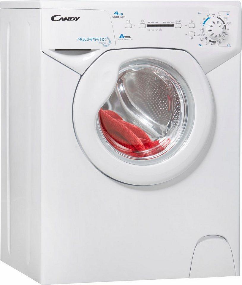 Candy Waschmaschine AQUA 1041D1, A+, 4 kg, 1000 U/Min in weiß