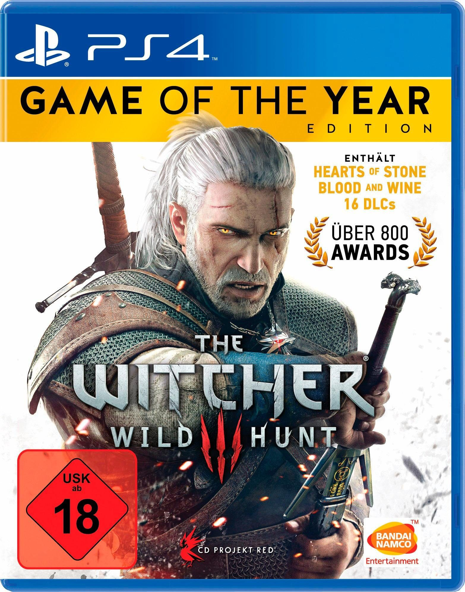 The Witcher3: Wild Hunt – Game of the Year Edition PlayStation 4