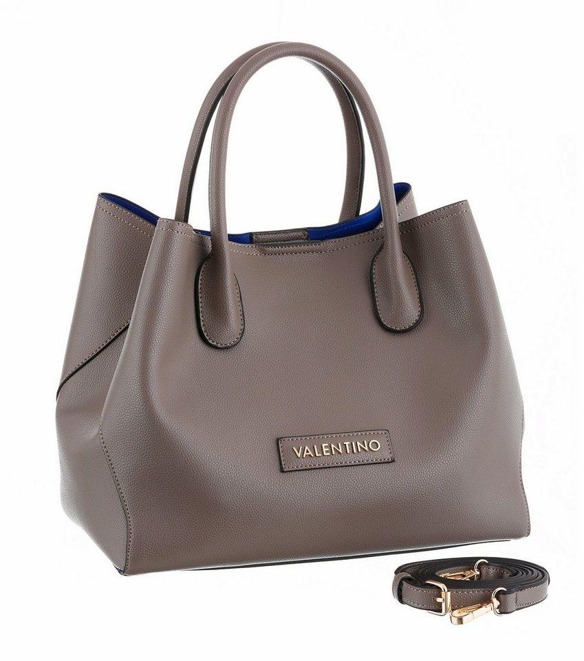 Valentino handbags Shopper mit variablem Volumen in grau