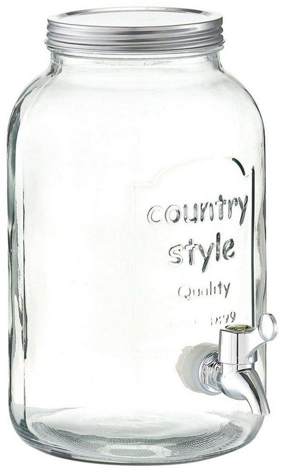 Getränkespender »Country-Style« in glasklar