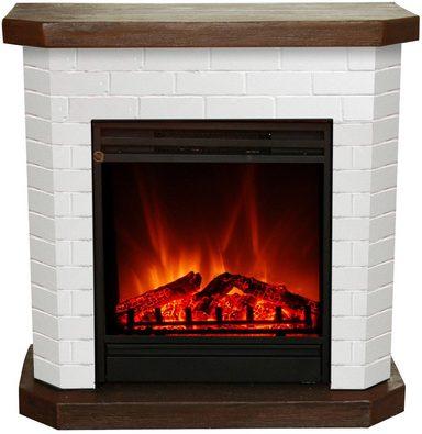 el fuego elektrisches kaminfeuer kiel wei 1500 watt. Black Bedroom Furniture Sets. Home Design Ideas