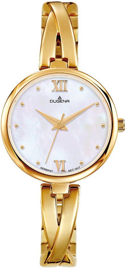 Dugena Quarzuhr »4460669« in goldfarben