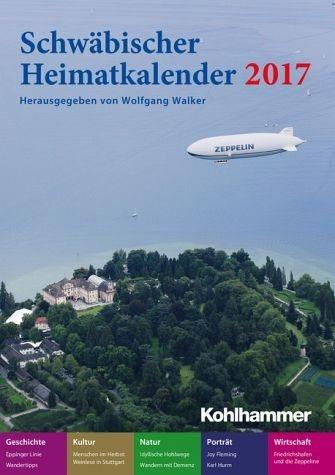 Broschiertes Buch »Schwäbischer Heimatkalender 2017«