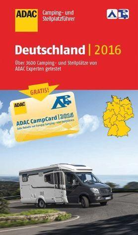 Broschiertes Buch »ADAC Camping- und Stellplatzführer 2016...«