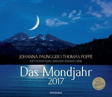 Kalender »Das Mondjahr, Wandkalender 2017«