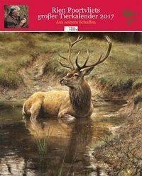 Kalender »Rien Poortvliets großer Tierkalender 2017«