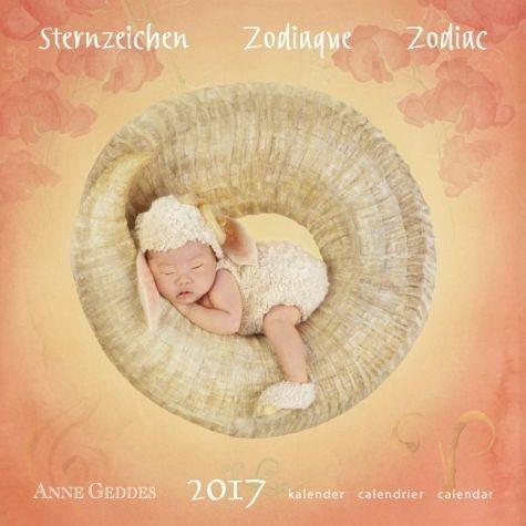 Kalender »Anne Geddes 2017 - Sternzeichen«