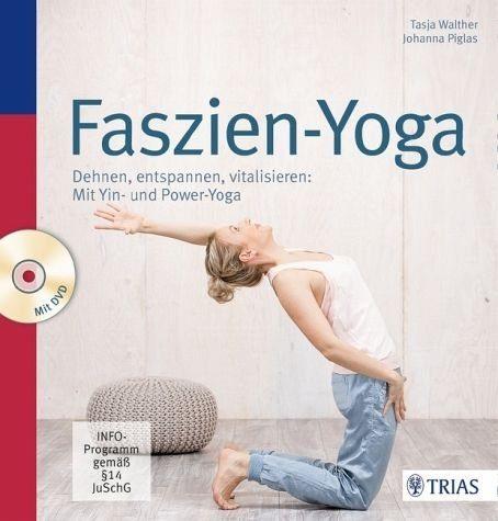 Broschiertes Buch »Faszien-Yoga«