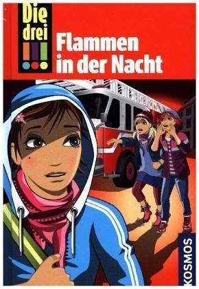 Gebundenes Buch »Flammen in der Nacht / Die drei Ausrufezeichen...«