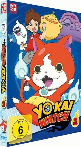 DVD »Yo-Kai Watch - Box 1 (2 Discs)«