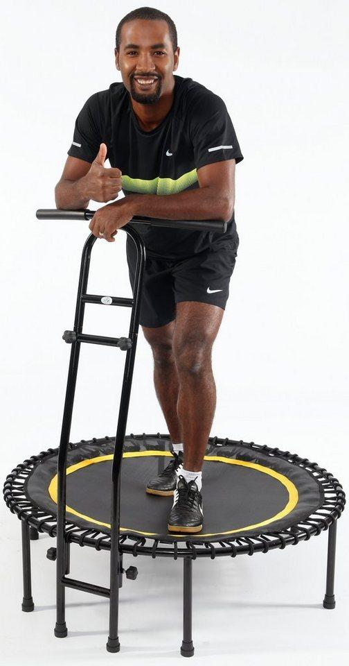Joka Fit Fitness Trampolin, »Cacau«, schwarz-gelb in schwarz-gelb