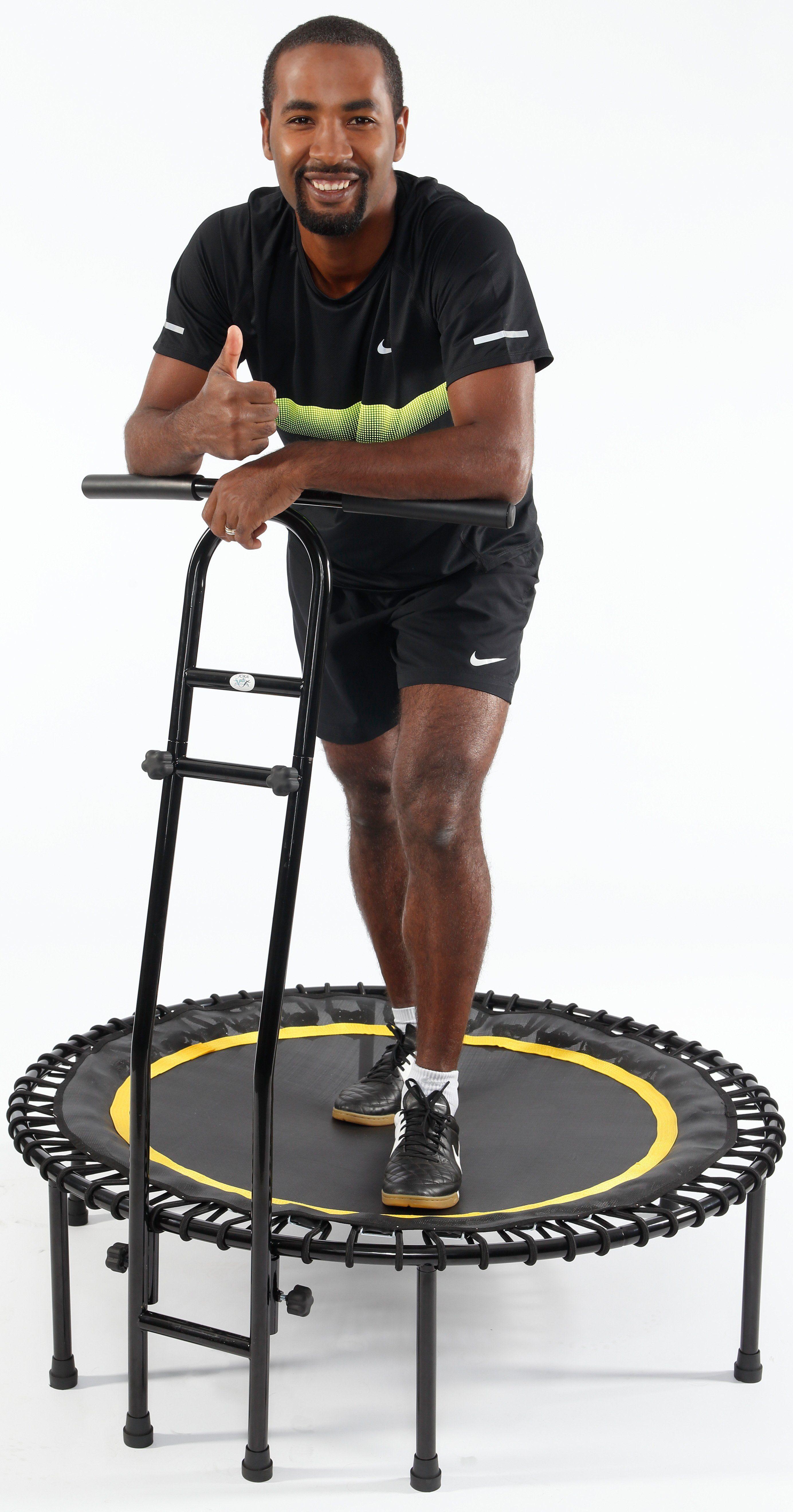 Joka Fit Fitness Trampolin, »Cacau«, schwarz-gelb