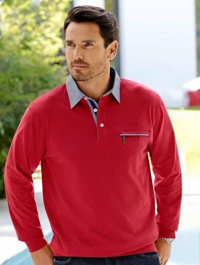 Babista Sweatshirt mit Hemdkragen