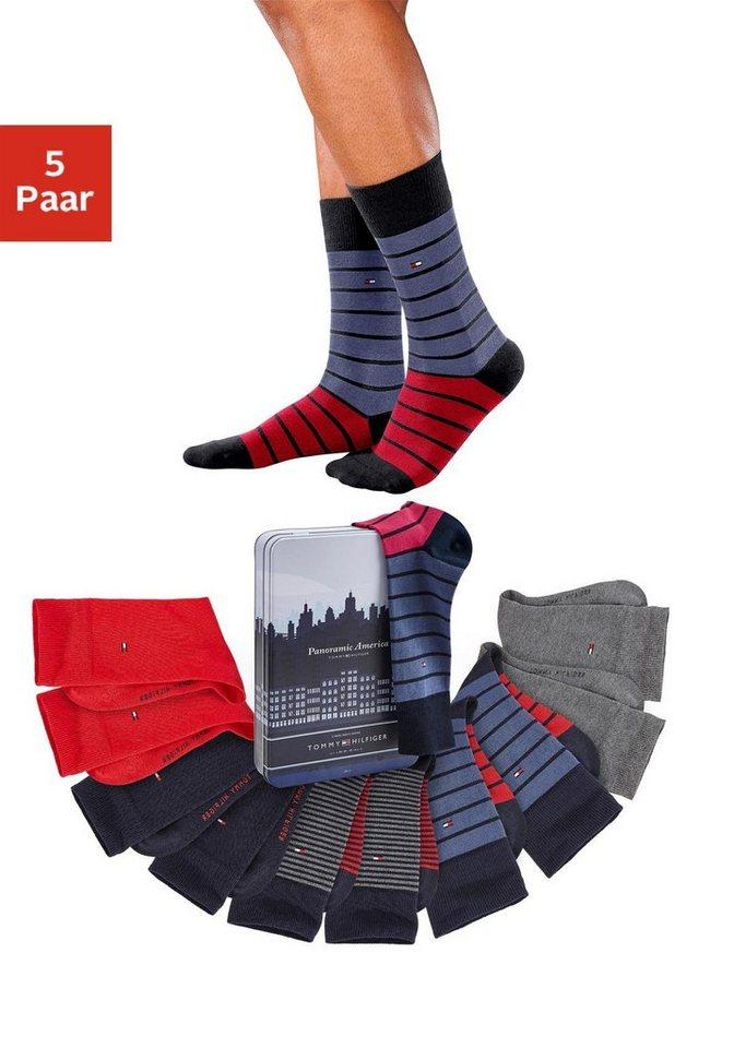 Tommy Hilfiger Socken (5 Paar) in 5x farblich sortiert