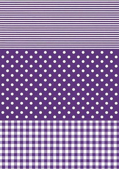 "décopatch Papier ""Dotty-Lila"""