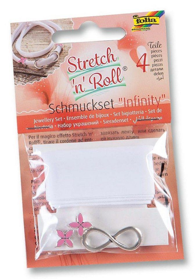 """Folia Stretch n Roll Schmuckset """"Infinity"""""""