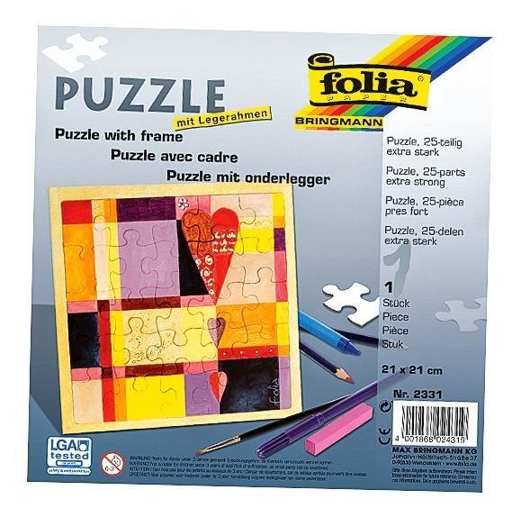 Folia Puzzle mit Legerahmen