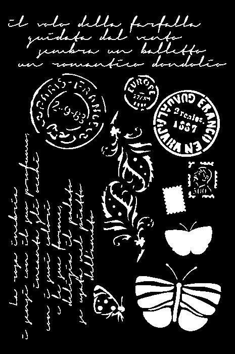 Stamperia Schablone, Postsymbole