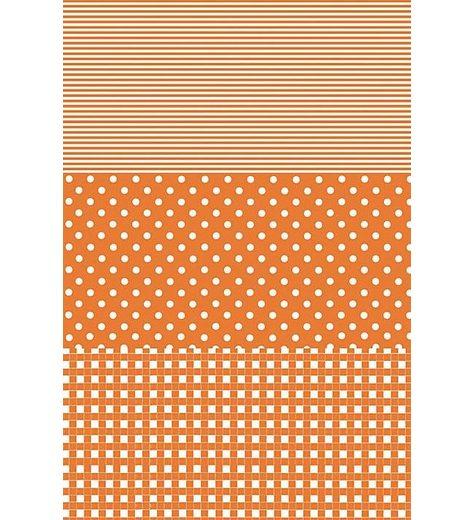 """décopatch Papier """"Dotty-Orange"""""""