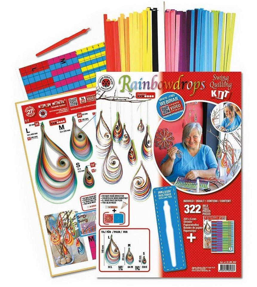 Karen Marie Klip Karen-Marie Swing Quilling Rainbowdrops