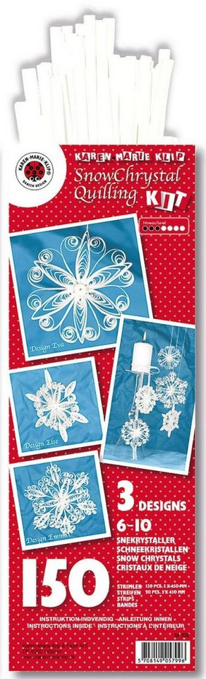 Karen Marie Klip Karen-Marie Snowchrystal Quilling Kit
