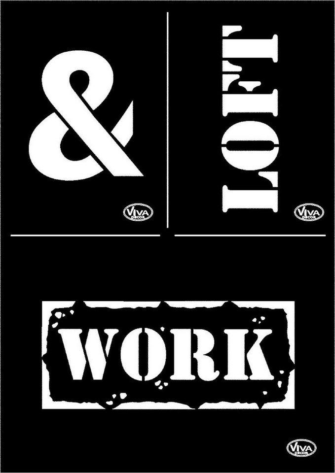 "Viva Decor Schablone ""Loft & Work"""