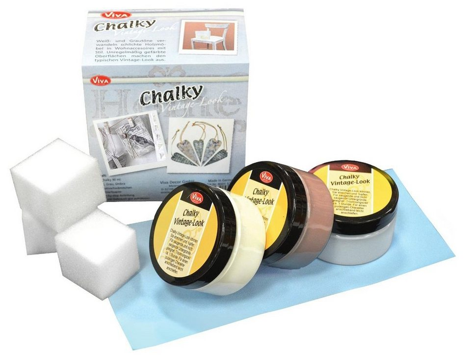"Viva Decor Chalky Vintage Look Set ""Classic"""