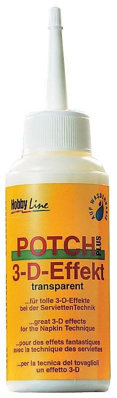 Hobby Line Potch 3D Lack, 80 ml
