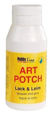 """Hobby Line Serviettenlack, """"Art Potch"""", matt, 750 ml"""