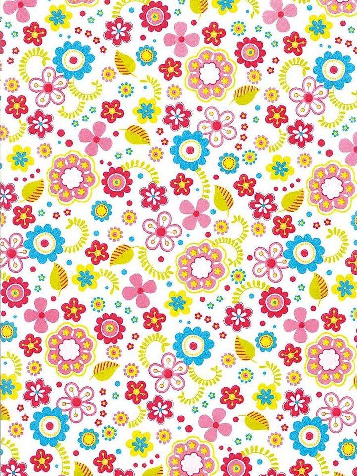 """décopatch Décopatch-Papier """"Flower Power"""""""