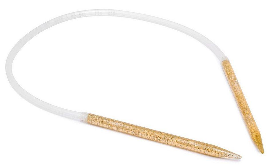 addi Rundstricknadel, Kunststoff, 60cm, Stärke 8