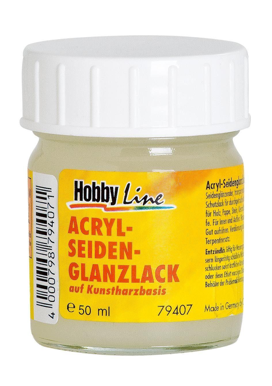 Hobby Line KREUL Klarlack, 50 ml, Seidenmatt