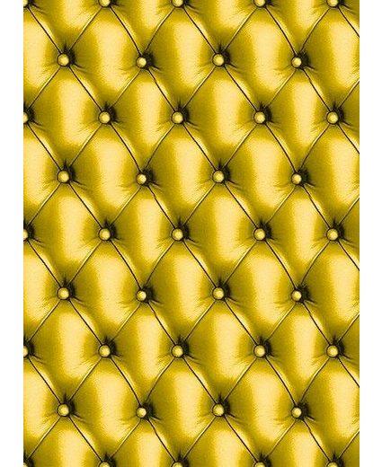"""décopatch Papier """"Chesterfield Gold-Gelb"""", Packung 3 Stück"""