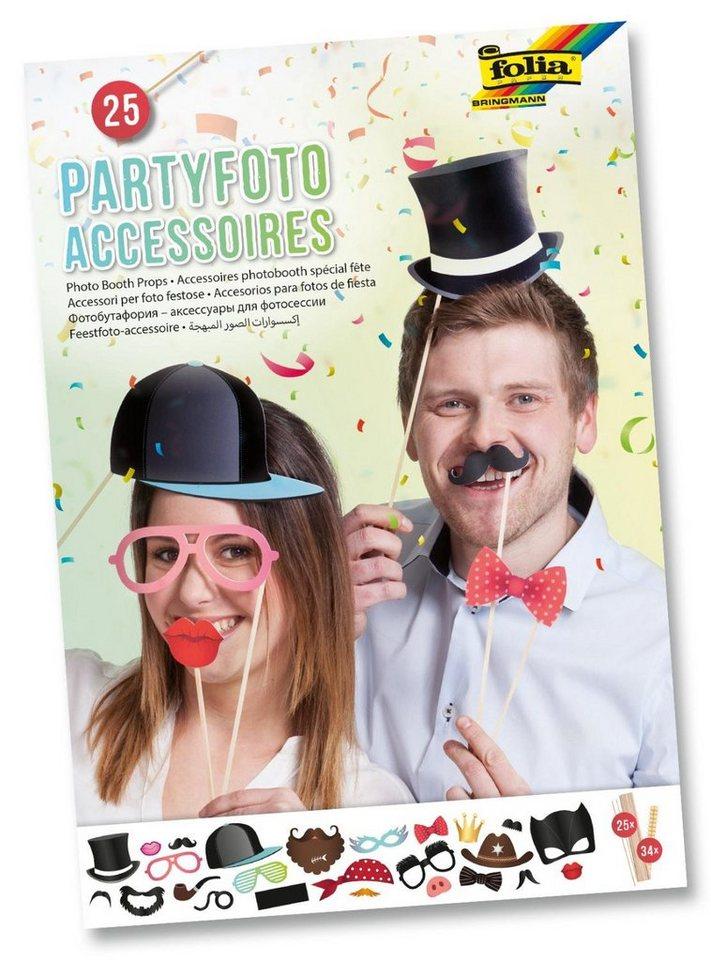 Folia Partyfoto-Accessoires, 84 Teile