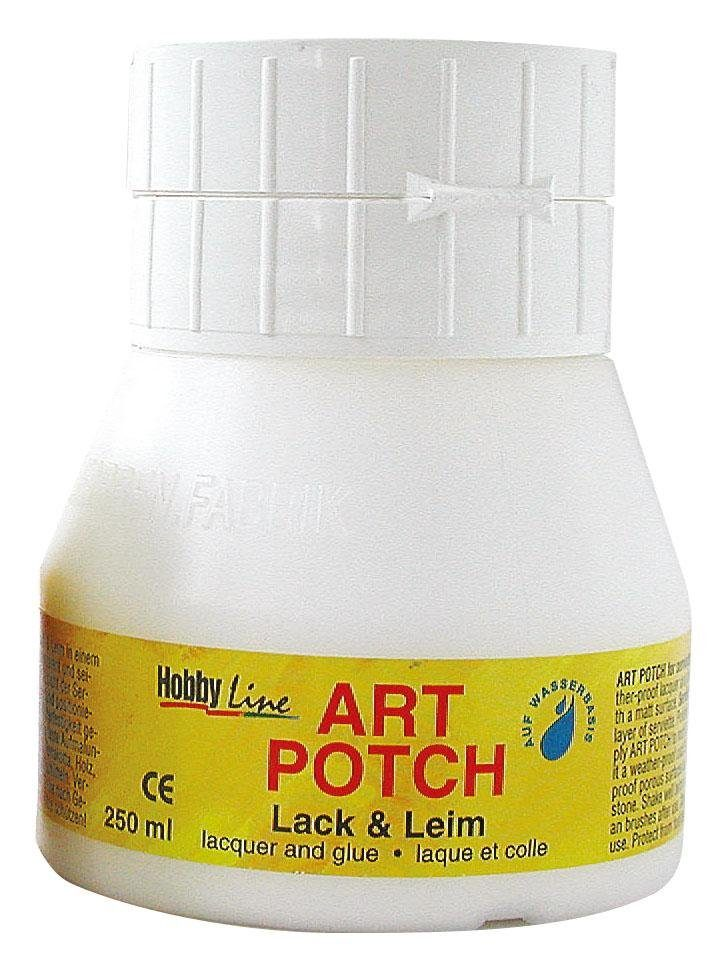 Hobby Line Serviettenlack Art Potch, matt, 250 ml
