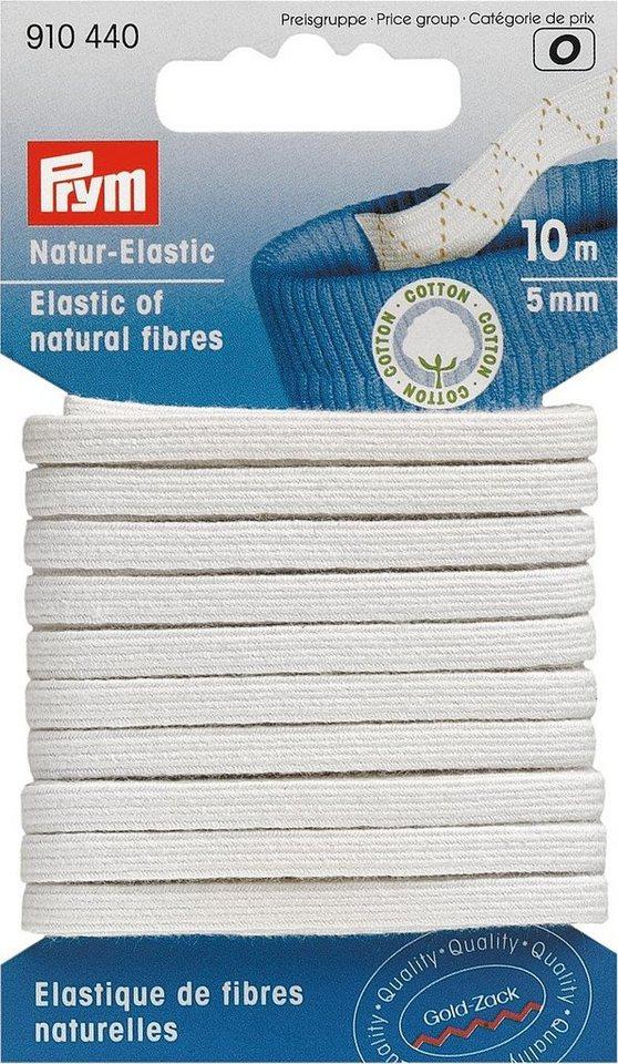 prym natur elastic gummiband breite ca 5 mm l nge ca. Black Bedroom Furniture Sets. Home Design Ideas