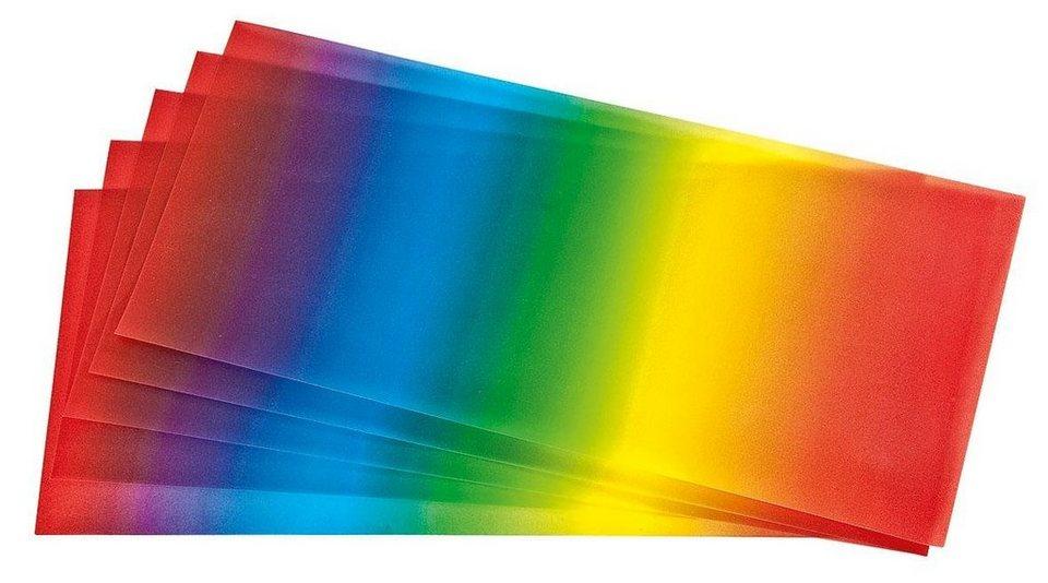 "Folia Transparentpapier ""Regenbogen"""