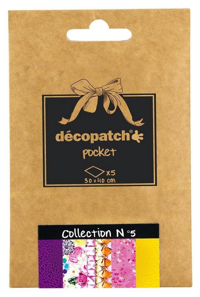 "décopatch Pocket ""Collection No.5"""