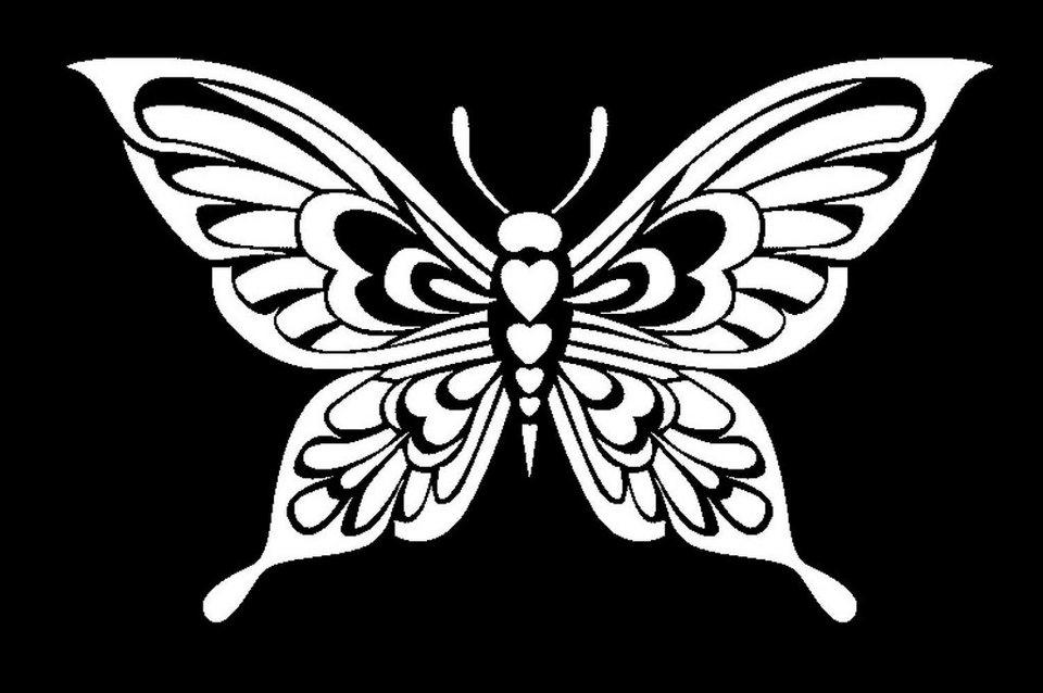 Stamperia Schablone, Schmetterling