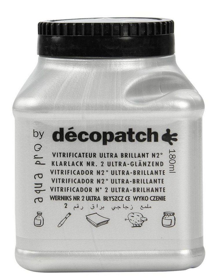 """décopatch Aquapro-Klarlack """"Ultra Brilliant"""", 180 ml"""