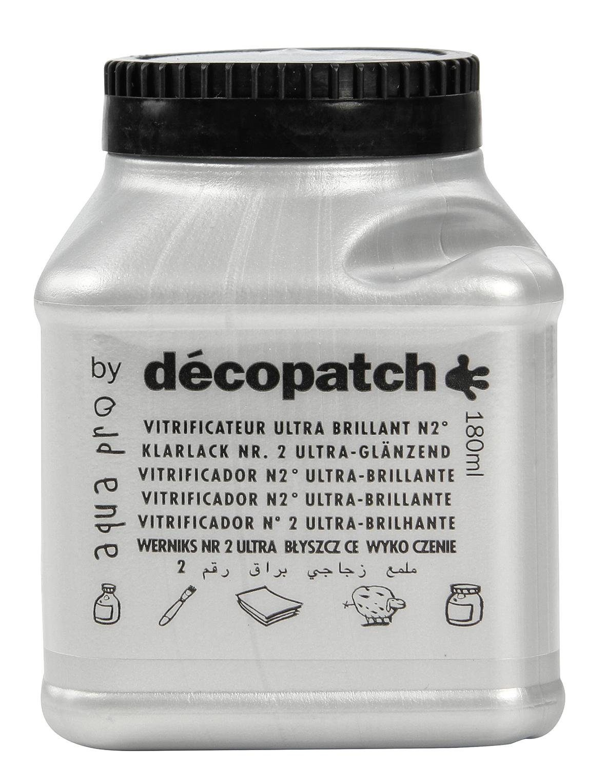 "décopatch Aquapro-Klarlack ""Ultra Brilliant"", 180 ml"