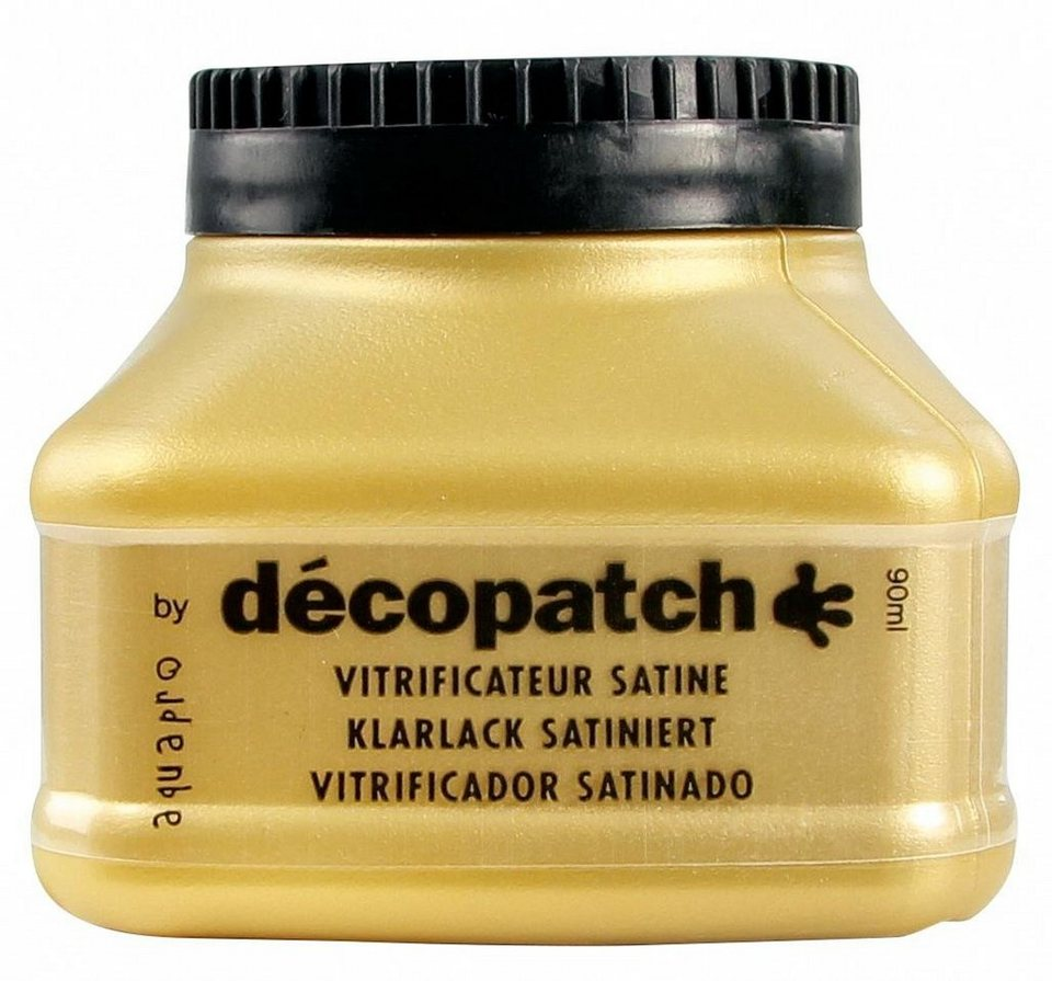 "décopatch Aquapro-Klarlack ""Seidenmatt"", 90ml"