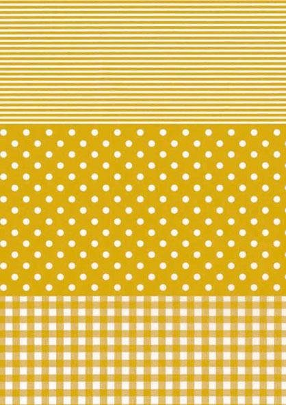 "décopatch Papier ""Dotty-Gold"""