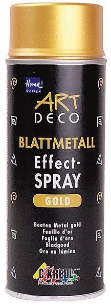 Home Design Blattmetall Effect-Spray, 400 ml, Gold