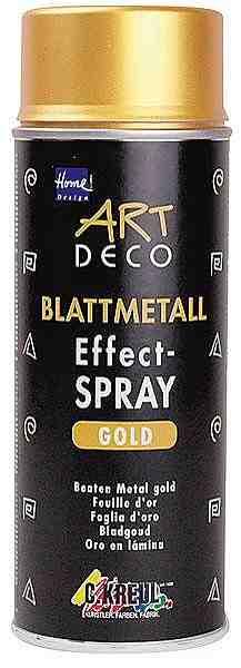 Home Design Blattmetall Effect-Spray, 400 ml, Gold