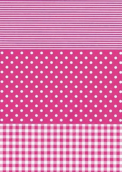 """décopatch Papier """"Dotty-Pink"""""""