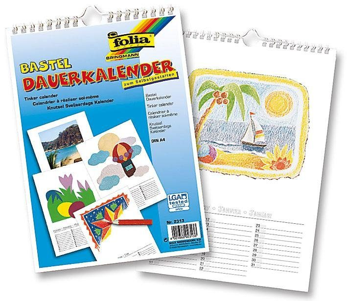 Folia Bastel-Dauerkalender, DIN A4