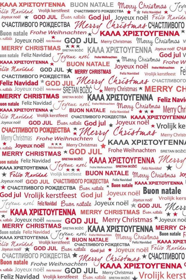 """décopatch Papier """"Merry Christmas"""""""