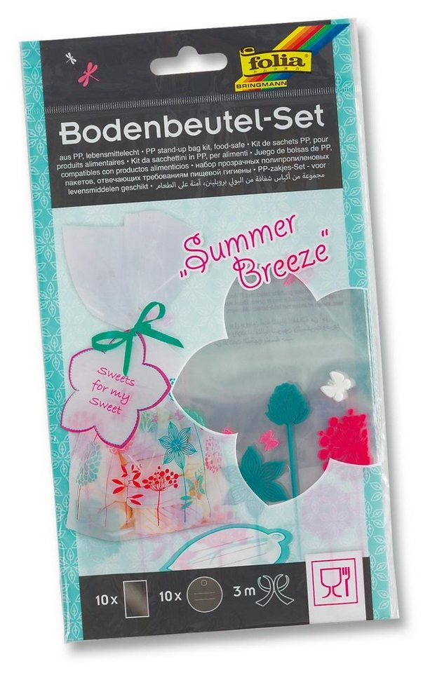 "Folia Bodenbeutel-Set ""Summer Breeze"""