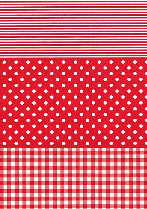 "décopatch Papier ""Dotty-Rot"""